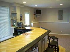 Superbe Bar Countertops, Basement Remodeling, Basement Ideas, Bar Tops, Counter  Tops, Design Styles, Bar Ideas, Work Spaces, Basements