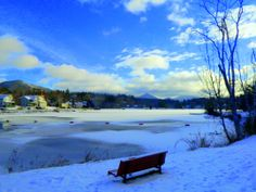 New Years Day, 2014, Saranac Lake, Lake Flower, +3F, 9am