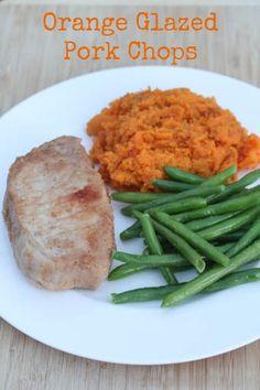 Gluten Free Orange Glazed Pork Chops - part of our 21 Gluten Free Meals from Costco plan | 5DollarDinners.com
