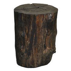 Reclaimed Solid Wood Log Round Table or Stool by URBAN TREE SALVAGE.   One of a kind Tables created from salvaged felled Toronto trees.  Available in a variety of sizes and shapes, please visit our website for more information on our pieces at http://www.urbantreesalvage.com/shop/log-rounds