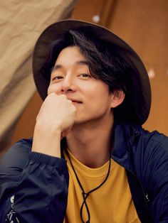 Gong Yoo Smile, Yoo Gong, Asian Actors, Korean Actors, Gong Yoo Shirtless, Goong Yoo, Handsome Asian Men, Coffee Prince, Smiling Man