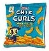 Chiz Curls  Melt-in-your-mouth, light and puffy collettes coated in delicious cheese flavors.