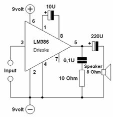 basic 0 5w power amp doesn t get any simpler than this good rh pinterest com Cigar Box Guitar Posters Cigar Box Amp Circuit
