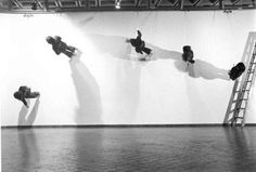Trisha Brown, Walking on Wall, 1971.