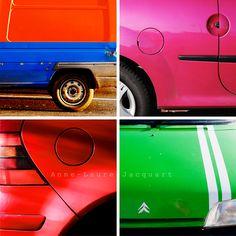 Carrosseries colorées ! | Anne-Laure Jacquart
