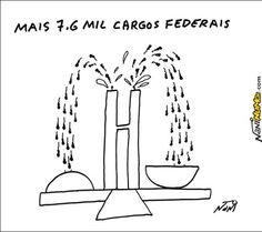 7,6 mil novos cargos federais
