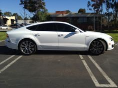 '13 A7 with formulaOne window film from Tint Plus.