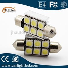 Check out this product on Alibaba.com APP Canbus error free 12V 5050 chips car led light H6SMD festoon auto led for car