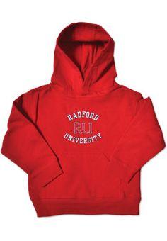 Radford University Toddler Hooded Sweatshirt
