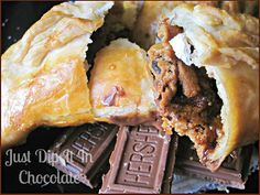 S'mores Empanadas Recipe from Just Dip It In Chocolate {Sweet Treats #33}