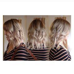 Amazing hair by @jessicadramsey #beautiful #haircolor #haircut #loveit #amazing #hair