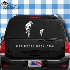 OK you crazy parrot lovers, our parrot car decals are the perfect accessory for your parrotmobile. This decal will let world know that you either love parrots and wildlife or crazy parrot hoarder and can't wait to get home to your 158 fine feathered friends. #parrotmacaw #parrotdecals #crazyparrot