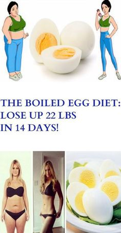 THE BOILED EGG DIET: LOSE UP 22 LBS IN 14 DAYS! – Stay Healthy Magazine