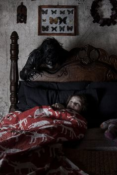 (Bed Fears by IllustratedEye.deviantart.com)