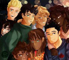 Percy Jackson is not a fandom. It's a fanDAM. Magnus Chase, Percy Jackson Books, Percy Jackson Fandom, Solangelo, Percabeth, Oncle Rick, Team Leo, Trials Of Apollo, Rick Riordan Books