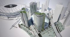 Aquilini Developments says a three-highrise tower development near Rogers Arena 'is probably the largest rental project [in Vancouver] in the last 30 years.'
