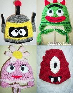 gabba crochet hats