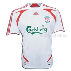 Liverpool Away Jersey 2007-2008