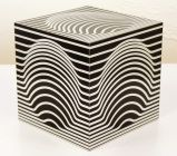 1STDIBS.COM - design/one - Victor Vasarely - Victor Vasarely Cube Sculpture