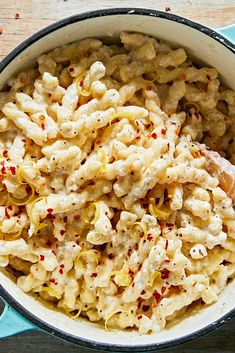 NYT Cooking: This elegant, bright pasta dish comes together in about the same amount of time it takes to boil noodles and heat up a jar of store-bought marinara. The no-cook sauce is a mix of ricotta and Parmesan, with the zest and juice of one lemon Queso Ricotta, Ricotta Pasta, Ricotta Cheese Recipes Pasta, Parmesan Pasta, Bean And Cheese Enchiladas, Pasta Recipes, Cooking Recipes, Dishes Recipes, Cooking Ideas