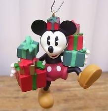 "Hallmark Keepsake Ornament Disney Archives #2 Mickey & Co. ""Ready for Christmas"" Mickey (1998)"