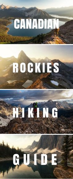Looking for inspiration for your next outdoor adventure? Check out the Best of day hikes and multiday backpacking trips in the Canadian Rockies. #Hiking #Canada #Rockymountains