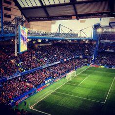 Stamford Bridge = sixty somethin' undefeated games for Mourinho.