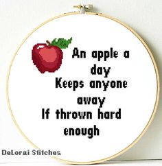 Funny cross stitch pattern. Funny life quote. Subversive cross
