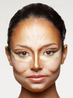 Create High Cheekbones - 3 Easy Makeup Tips to Fake Supermodel Cheekbones - Real Beauty