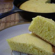 "Grandmother's Buttermilk Cornbread | ""Really good and easy. Tip: if you don't have buttermilk, decrease the milk by 2 tablespoons, and replace with 2 tablespoons lemon juice."""