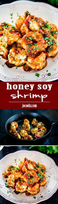Honey Soy Shrimp - good!