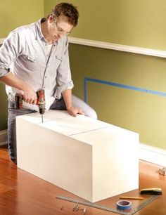 how to build box shelves.  In finder of web site, but in box shelves.  Good how to