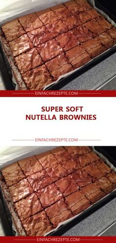 Super Soft Nutella Brownies 😍 😍 😍 More from my siteDessert Recipes Easy BrowniesDessert Recipes Easy BrowniesDessert Recipes Easy BrowniesDessert Recipes Easy BrowniesCheesecake Topped BrowniesDessert Recipes Easy Videos Nutella Brownies, Chewy Brownies, Cookie Dough Brownies, Cream Cheese Brownies, Healthy Brownies, Cookie Brownie Bars, Vegan Brownie, Nutella Cake, Fall Cake Recipes