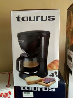 Taurus – 920615 – Verona Drip Filter Coffee Maker - R385  We were estabished in 1994 - for 26 years we've kept clients happy with our great specials! Visit www.appliancewarehouse.co.za, or phone Mariette - 012 003 1005/0822807628 for more info. Drip Filter Coffee, Drip Coffee Maker, Display Boxes, Verona, Taurus, Warehouse, Household, Kitchen Appliances, Phone