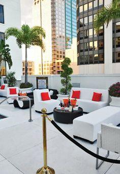 Sleek & Modern - Our Minotti Collection featured by OrlandoMagazine.com #minotti #chic #eventfurniture #corporateevents #eventpros