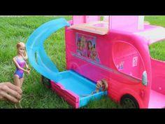 Что должно быть в спальне у девчонок!: Автофургон Барби! Челси на пикнике…