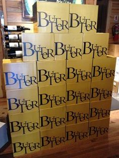 Butter Chardonnay! Butter Chardonnay
