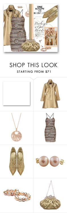 """""""One minute to Midnight....."""" by samketina ❤ liked on Polyvore featuring St. John, Elie Saab, Frederic Sage, Topshop, Loriblu, Splendid Pearls, Judith Leiber, women's clothing, women and female"""