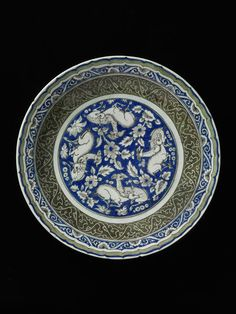 Dish      Place of origin:      Iran (made)     Date:      second half of 17th century (made)     Artist/Maker:      Unknown (prod...