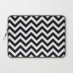 Chevron pattern Laptop Sleeve by My Home Decor | Society6