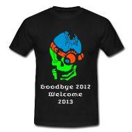 T-Shirts ~ Männer T-Shirt klassisch ~ Neujahr