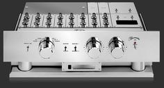 Burmester 808 - Gleaming reference preamp in production since 1980