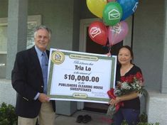 Publishers Clearing House Winners and Prize Patrol PCH Enter Sweepstakes, Online Sweepstakes, Anxiety Disorder Treatment, Win For Life, Congratulations To You, Publisher Clearing House, Winning Numbers, Become A Millionaire, Cash Prize