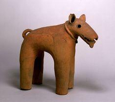 archaeology Haniwa Dog Kofun Period  6th century