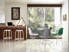 The #Eames in 8 new spirited colors.