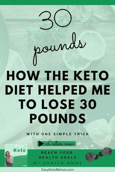 Click the link to find out how I loss 30 pounds on the with keto with the power of ketosis. Keto Flu Symptoms, Easy Keto Meal Plan, Lose 30 Pounds, Stubborn Fat, Keto Transformation, Keto Diet For Beginners, Health Goals, Eat Right, Ways To Lose Weight