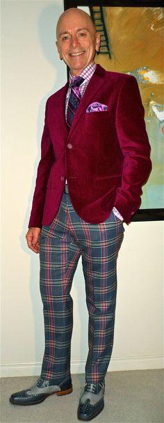 TOPMAN blazer, Jones New York shirt, Ted Baker tie, Moods of Norway pants, Ron…