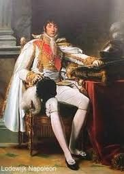 King Louis Napoleon Bonaparte of Holland. His brother Napoleon became dissaftisfied with his performance, removed him from the throne and incorporated Holland into the French Empire. My ancestor Nicolas Thirion served in the Royal Dragoons during the reign of Louis Napoleon.