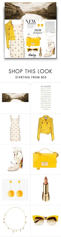 """""""Italian Holiday...."""" by sue-mes ❤ liked on Polyvore featuring Emilio Pucci, Moschino, Salvatore Ferragamo, Prada and Dolce&Gabbana"""