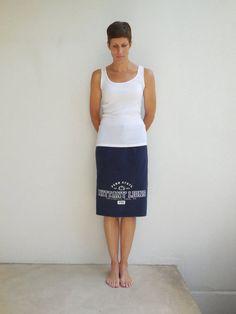 Penn State TShirt Skirt Nittany Lions Tee Skirt Eco Friendly